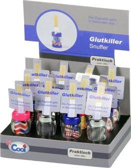 """Glut-Killer """"Kunterbunt"""" offen sortiert, mit Einstecker"""