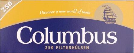 """COLUMBUS """"250"""" Zigtt.-Hülsen (4 Schachteln)"""