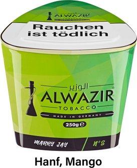 "WP-Tabak Alwazir ""Marry Jay No.8"" 250gr-Dose"