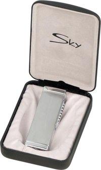 """SKY Jet-Fzg.""""Classic"""" chrom satin/chrom pol.m.Rundcutter 9mm"""