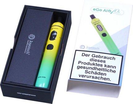 AT E-Zigarette Joyetech eGo AIO Top-Filler Mix 1 gelb/azur
