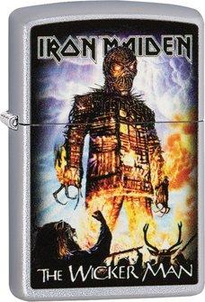 "Org.ZIPPO saf.fin.col. ""Iron Maiden-The Wicker Man""60004460"