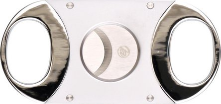 Cigarren-Abschneider chrom sat./chr.pol. 22mm Schnitt/KS-Box