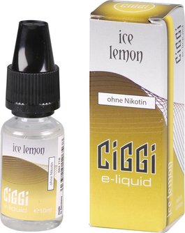 CIGGI Liquid Ice Lemon ohne Nikotin 10 ml
