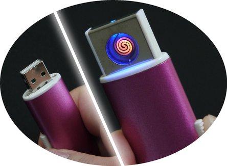 """COOL Spiral-Anzünder """"Elano"""", USB-Stecker integriert"""