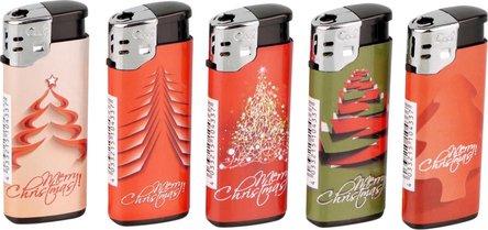 "COOL Mehrweg-Piezo-Feuerzeug medium ""Christmas"""