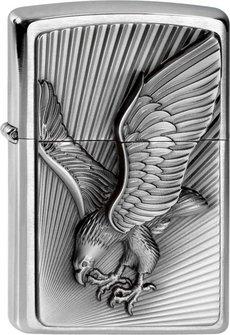 "Org.ZIPPO cr.geb. Plakette ""Eagle 2013"" 2003979"