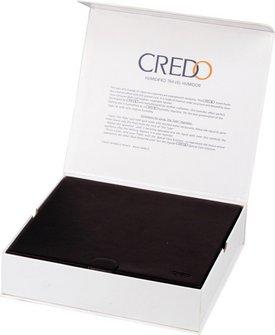 CREDO Reisehumidor Leder schwarz für ca. 10 Cigarren