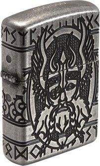 "Org.ZIPPO silber antik ""Odin"" 60003589"