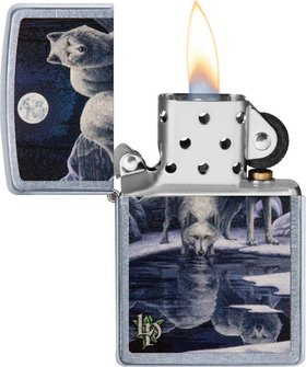 "Org.ZIPPO str.cr.color ""Lisa Parker 2 Wolfes Water""60004492"