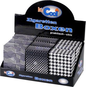 """Cool Big Box """"Pop up"""" schwarz/weiss sortiert  30er"""