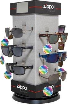 ZIPPO Sonnenbrillen Polarized sortiert im Drehdisplay