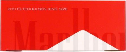 "MARLBORO RED ""200"" Zigtt.-Hülsen (5 Schachteln)"