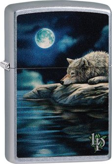 """Org.ZIPPO str.cr.color """"Lisa Parker Wolf/Water"""" 60004493"""