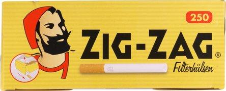 "ZIG ZAG ""250"" Zigtt.-Hülsen (4 Schachteln)"