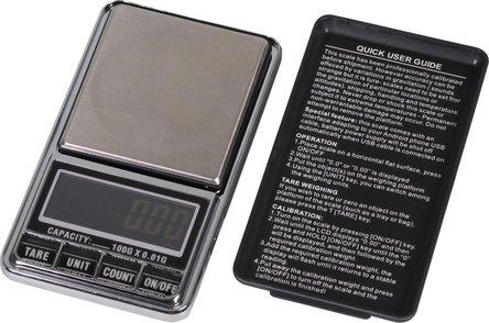 Taschenwaage USB / bis 100g / Skalierung 0.01g