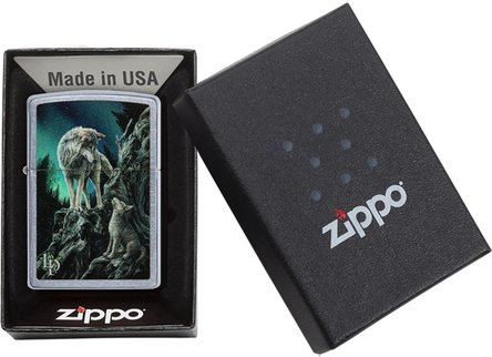 """Org.ZIPPO str.cr.col""""Lisa Parker 2 Wolfs Mointain""""60004495"""