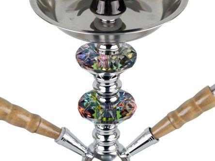 """Modern-Shisha Wasserpfeife """"Mnevis"""" braun 2er/42cm"""