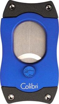 """COLIBRI Cigarrenabschneider """"S-Cut/Easy Cut"""" blau 26mm"""