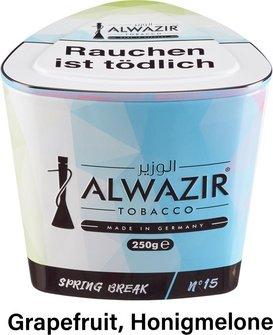 """WP-Tabak Alwazir """"Spring Break No.15"""" 250gr-Dose"""