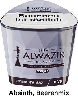 """WP-Tabak Alwazir """"Break me bad No.18"""" 250gr-Dose"""