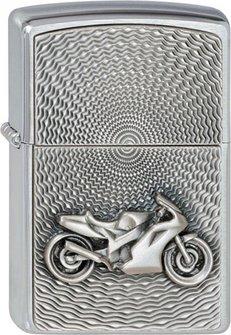 """Org.ZIPPO cr.geb.Plak.""""Bike Embl""""2000225"""