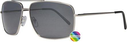 ZIPPO Sonnenbrille Metall OB 28 silber Polarized