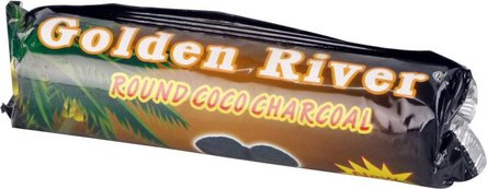 "Wasserpfeifenkohle ""Golden River Coco"" 40mm / 10 Tabletten"
