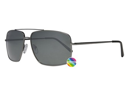 ZIPPO Sonnenbrille Metall OB 28 gunfarben Polarized