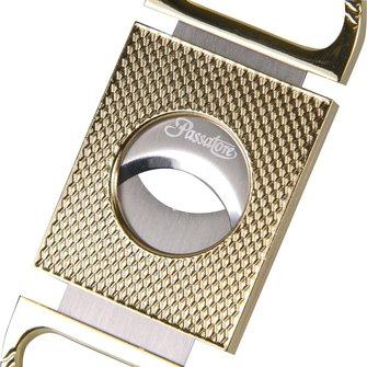 PASSATORE Cigarren-Abschneider Diamantsp.goldin 24mm