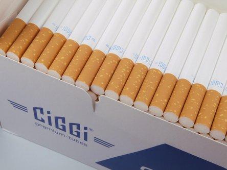 """CIGGI """"200"""" Zigtt.-Hülsen (5 Schachteln)"""