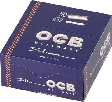 OCB Ultimate EXTRA LONG Slim Zigtt.-Papier (je 50 Heftchen)