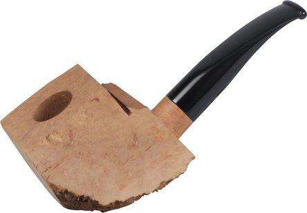 Bruyèrekantel halb-gebogen / Acrylmundstück