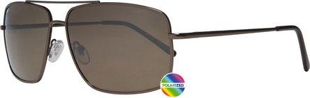 ZIPPO Sonnenbrille Metall OB 28 braun Polarized