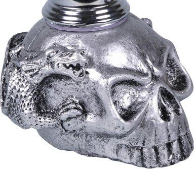 """Modern-Shisha Wasserpfeife """"Skull""""  2er/26cm"""