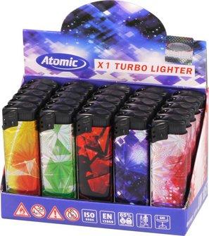 """ATOMIC Mehrweg-Turbo """"Fireworks"""" sortiert"""