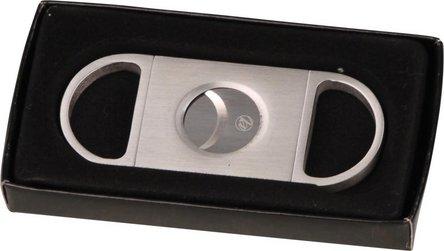 Cigarren-Abschneider TOP-Cut Edelstahl  20mm Schnitt/KS-Box