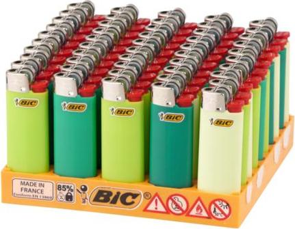 M I N I  BIC J25 Standard grün sortiert