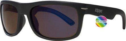 ZIPPO Sonnenbrille Kunststoff OB 33 schwarz matt Polarized