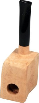 Bruyèrekantel gerade / Acrylmundstück
