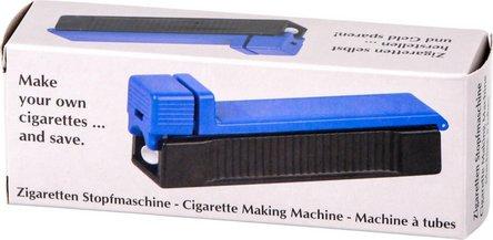 Zigarettenfertiger Economy schwarz/blau