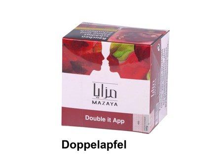 """WP-Tabak Mazaya """"Double it app"""" 200gr-Dose"""