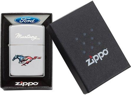 "Org.ZIPPO cr.po.col./grav ""Ford Mustang"" 60004523"