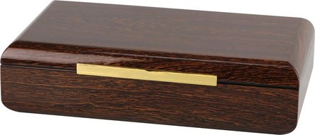 PASSATORE Humidor Ironwood-Design Pianolack für ca. 50 Cig.