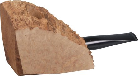 """Bruyèrekantel """"Plateauholz"""" gerade/Acrylmundstück"""
