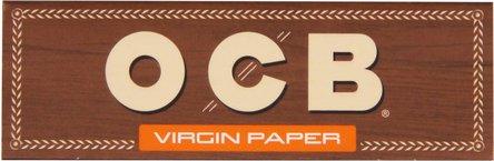 OCB Unbleached Zigtt.-Papier (je 50 Heftchen, 50Bl)