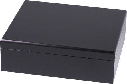 Humidor-Set schwarz für ca. 25 Cigarren