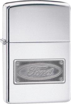 """Org.ZIPPO cr. pol. grav. """"Ford Logo Plate"""" 60004524"""