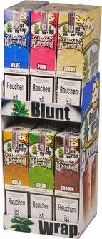 Blunt Wrap Blunts 6 Sorten á 25 Stück (á 2 Blunts)