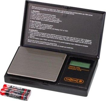 Taschenwaage / bis 200g / Skalierung 0.01g